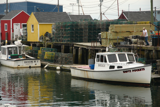 Lobster Boats, Portland, Maine (2010)